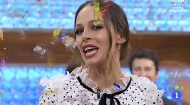La presentadora se despide de MasterChef para estar de lleno en La Voz