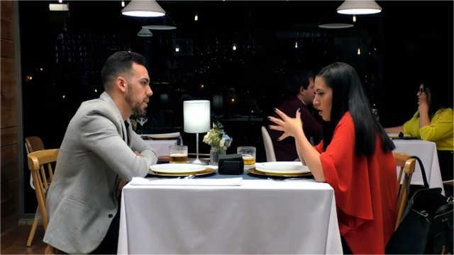 Rocio y Javier cenan en First Dates