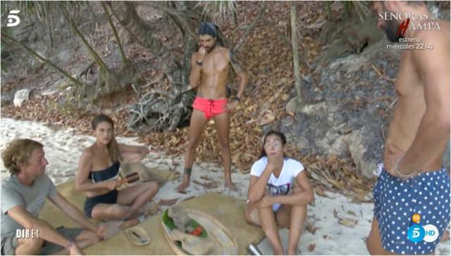 Los Supervivientes todos unidos en una isla tras la unificacion
