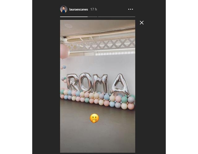 La influencer compartió el momento por instagram