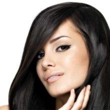 maquillaje para chicas de cabello negro