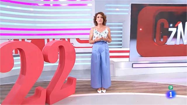 Carolina Casado presenta el programa que hoy celebra su 22 aniversario