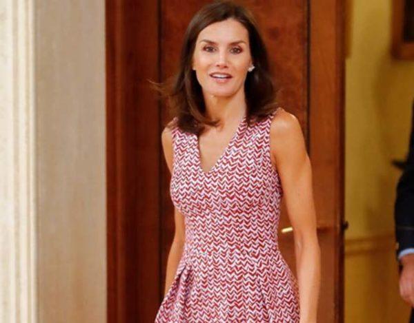Letizia Ortiz repite vestido