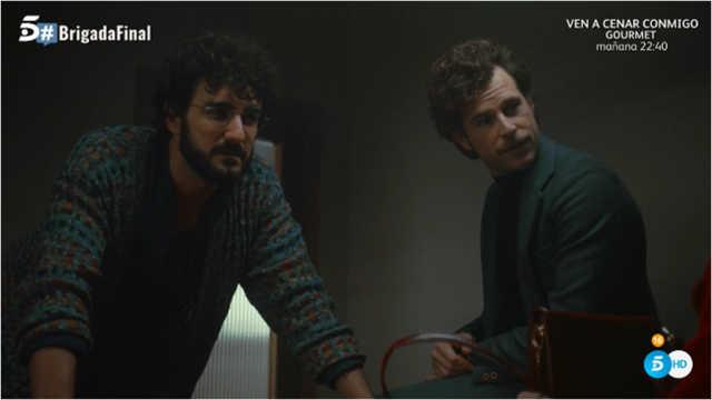 Leo y Martin interrogan a un sospechoso