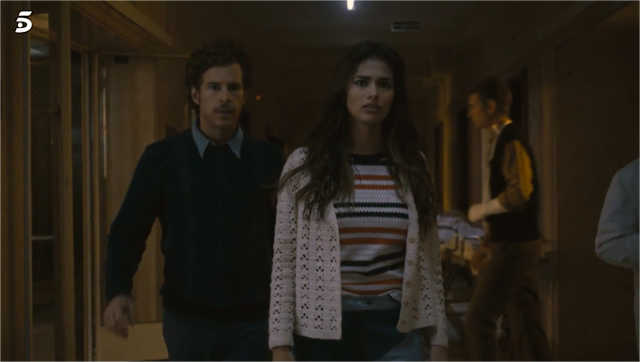 Yolanda llega al hospital para ver a Bruno tras haber pasado la noche con Leo