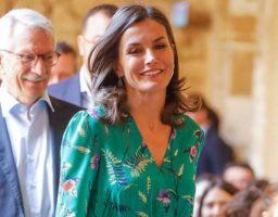 La reina acudió a un acto en Asturias