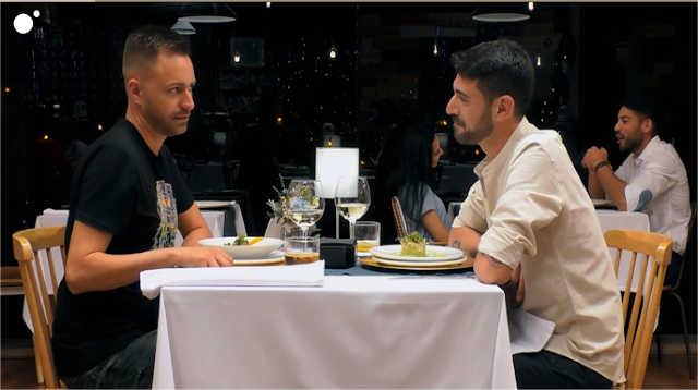 Diego y Jose Manuel cenan juntos en First Dates