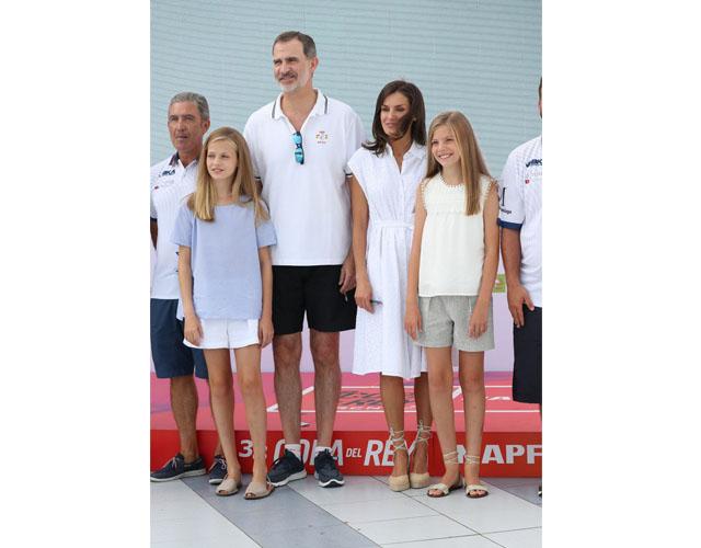 La familia real ya se encuentra en Palma de Mallorca