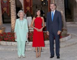 Los reyes se encuentran en la isla de Mallorca