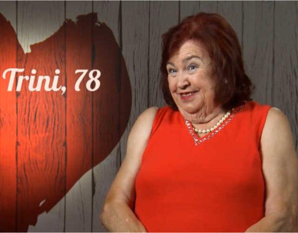 Mari Trini es una de las protagonistas de la noche en First Dates