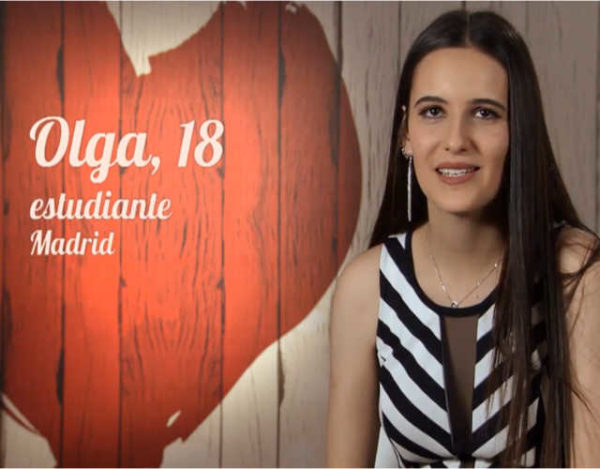 Olga busca el amor en el restaurante de First Dates
