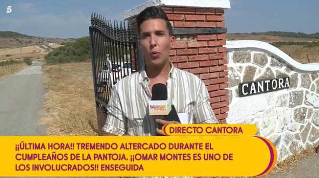 Salvame se vuelca en la cobertura de la fiesta de Isabel Pantoja