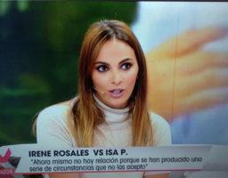 Irene Rosales debuta como colaboradora en Viva la vida