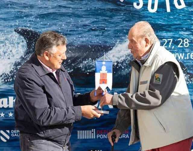 Juan Carlos reapareció luego de su operación de corazón