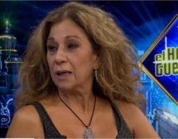 Lolita Flores se divierte en El Hormiguero