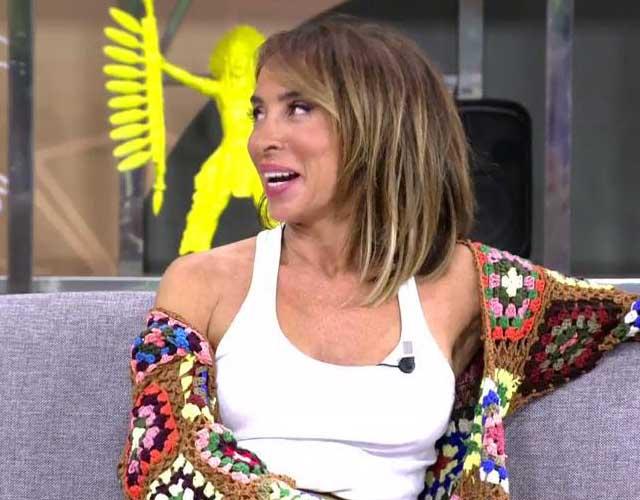 La presentadora aseguró que supo en el momento que se había quedado embarazada