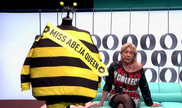 El momento en el que Jorge Javier le dice a Mila que se tiene que disfrazar de abeja