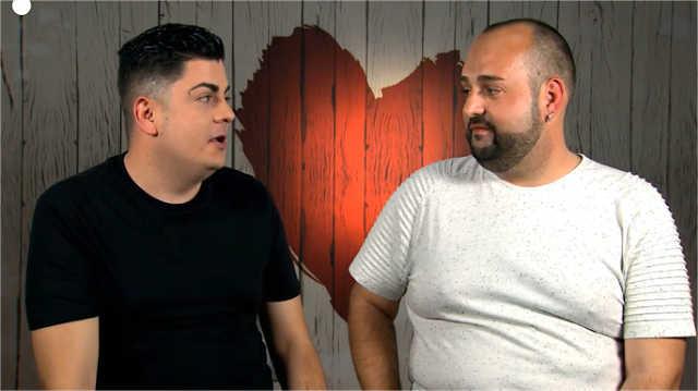Emilio y Domingo disfrutan de su cita en First Dates