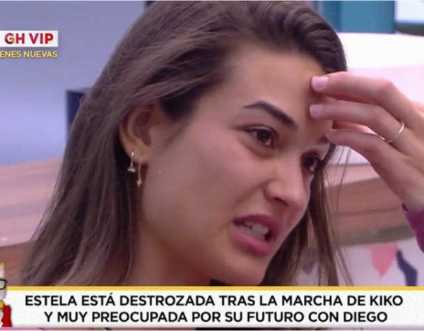 Estela sigue preocupada por lo que pueda estar sintiendo Diego