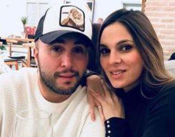 La pareja compartió tiernos vídeos en las redes de la jornada familiar