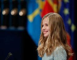 La princesa dio un discurso muy emotivo