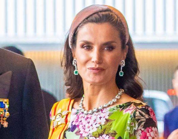 La reina acudió a la entronización de Naruhito como Emperador