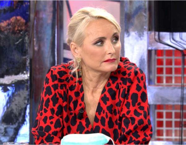 Lucía Pariente hace doblete en Telecinco, primero en Viva la visa y ahora en Sálvame Deluxe