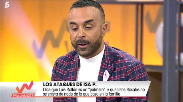 Luis Rollán se defiende de las acusaciones de Chabelita que le ha llamado palmero