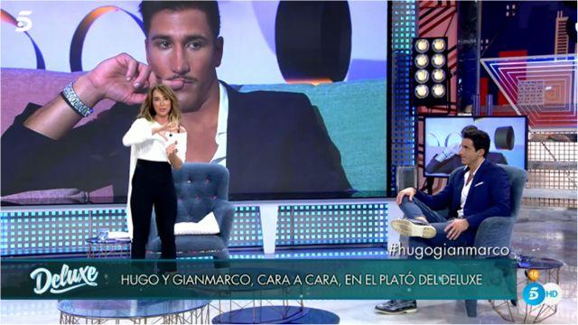 Hugo Sierra en su cara a cara con Gianmarco