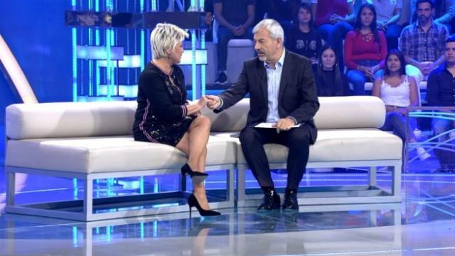 Carlos Sobera sorprende a Terelu Campos en Volverte a ver