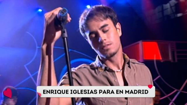Enrique Iglesias dará un único concierto en Madrid