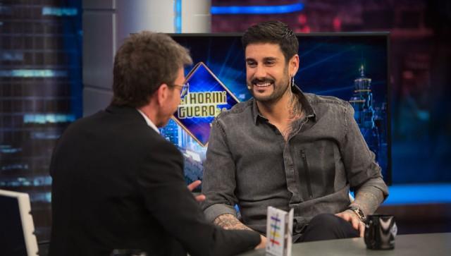 Un momento de la entrevista de Melendi en El Hormiguero