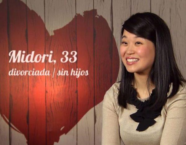 La japonesa Midori no se cree la suerte que ha tenido en First Dates