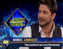 Manuel Carrasco se divierte en El Hormiguero