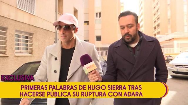 Kike Calleja le pregunta a Hugo Sierra por las últimas declaraciones de Adara