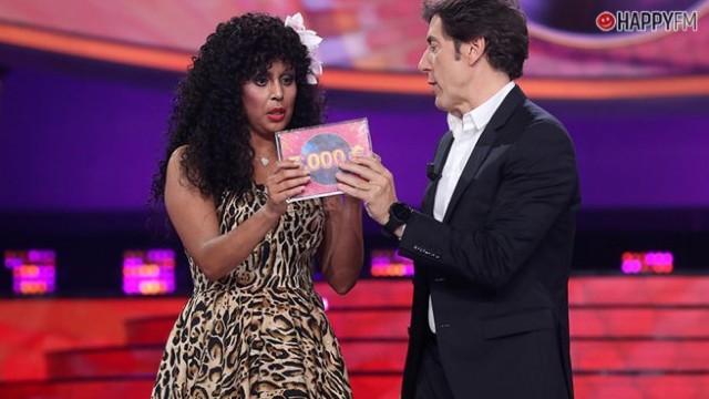 Cristina Ramos feliz al haber ganado en Tu cara me suena
