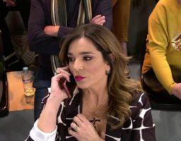 Raquel Bollo recibe la llamada de Isabel en directo