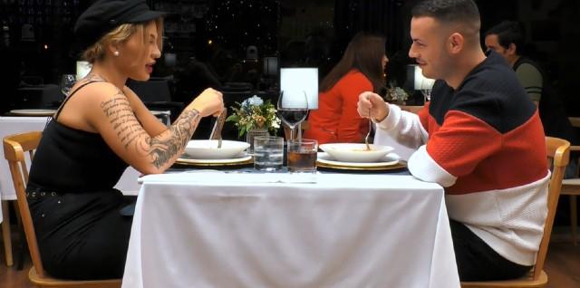 La cena entre Eric y Nerea ha sido estupenda