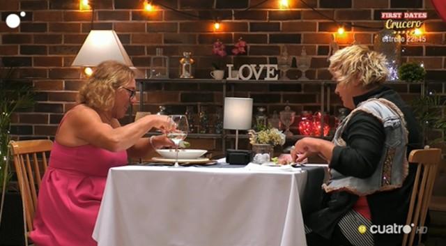Paca y Pilar han tenido una de las citas más peculiares de First Dates