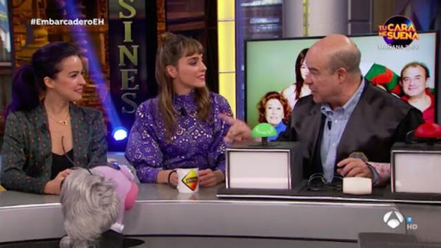 Resines se reecuentra con Verónica Sánchez tras Los Serrano