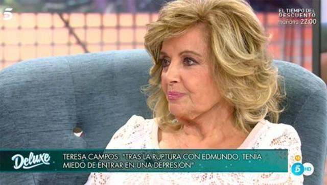 María Teresa le cuenta a Jorge Javier que estuvo a punto de caer en una depresión